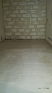 "6"" Concrete Floor"